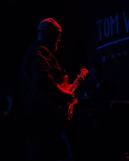 Tom Walker performing at Norwich Arts Centre on 26th March 2018. Photo: Danielle Booden