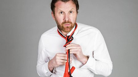 Jason Byrne You Can Come In, But Don't Start Anything. Photo: Submitted