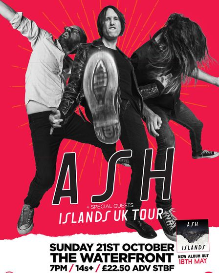 ASH's Norwich tour poster. Photo: Courtesy of UEA Box Office