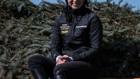 Jockey Bryony Frost who will ride Milansbar at the Grand National. Picture:Eddie Keogh