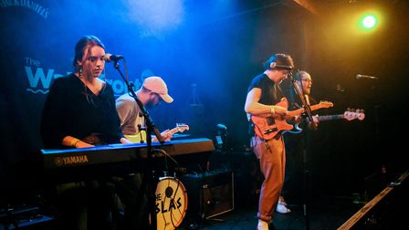 History and Lore supporting The Islas at The Waterfront Studio in Norwich, 13th April 2018. Photo: S