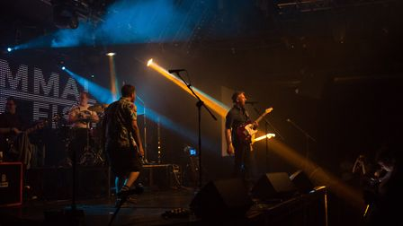 Mammal Not Fish performing at Epic Studios at their EP launch show, 20th April 2018. Photo: Danielle