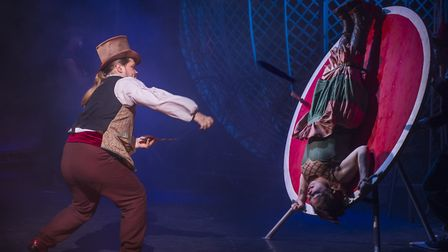 Thrills and spills with Cirque Berserk! at Norwich Theatre Royal from April 5-9. Photo: Piet-Hein Ou