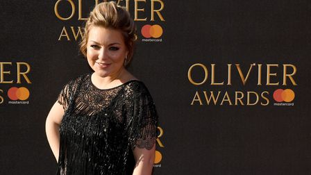 Sheridan Smith at the Olivier Awards 2017. She is a two-time winner. Photo: Chris J Ratcliffe/PA Wir