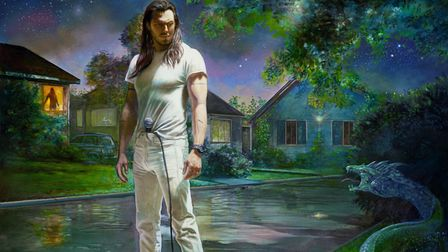Album artwork for 'You're Not Alone' by Andrew WK. Photo: Courtesy of Chuff Media