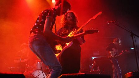 Fuzzy Sun supporting Blossoms at The LCR, UEA in Norwich on Saturday 12th May 2018. Photo: Ross Hall