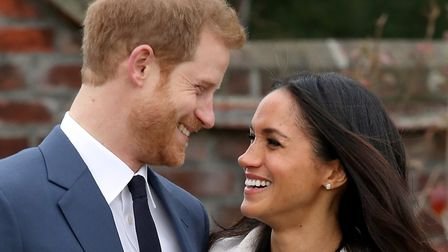 Prince Harry and Meghan Markle. Photo Getty Images.