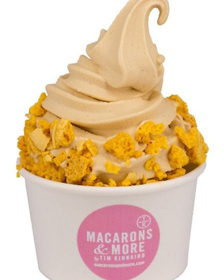 """Macarons & More in Norwich have created their own """"luxury"""" version of soft serve ice cream. Availabl"""