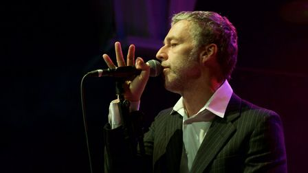 Baxter Dury performing at Norwich Arts Centre, 23rd April 2018. Photo: Steve Hunt