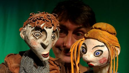 George and the Dragon is at Norwich Puppet Theatre. Photo: Garlic Theatre