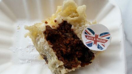 Lucy's Fish and Chip Stall on Norwich market are going to sell battered wedding cake to celebrate Ha