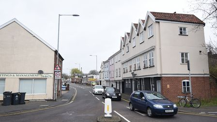 Oak Street, where Norfolk Industries For Disable People is situated. Picture: ANTONY KELLY