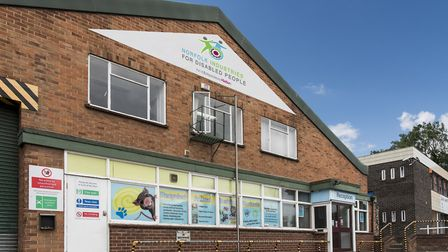 The front of the building at Norfolk Industries for Disabled People Photo Norfolk Industries for Di