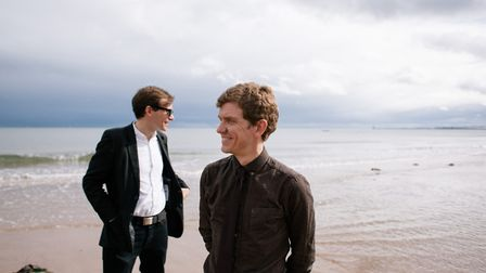 Peter Brewis (right) and David Brewis (left) of Field Music. Photo: Andy Martin