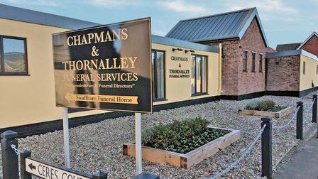 Picture: Chapmans & Thornalley Funeral Services