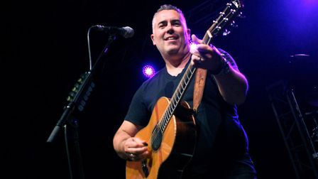Barenaked Ladies headlining The LCR, UEA in Norwich, 25th April 2018. Photo: Sam Dawes