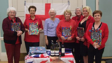 Swaffham Lions raised hundreds for charity with St George's day quiz. Picture: Swaffham Lions