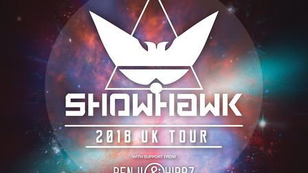 Showhawk Duo tour poster. Photo: Courtesy of UEA Box Office
