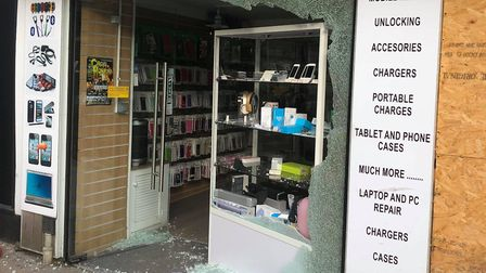 Mobile and Laptop Clinic in Norwich has been broken into (Picture: Imran Mohammed)