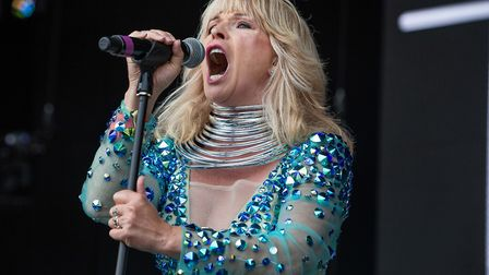 Toyah Wilcox performs at the Let's Rock Norwich 2018. Picture: LEE BLANCHFLOWER