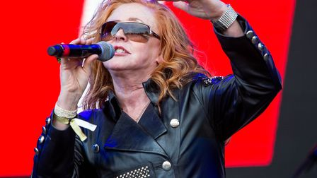 T'Pau on stage at Let's Rock Norwich 2018. Picture: LEE BLANCHFLOWER