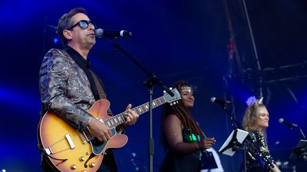 Nick Heyward at Let's Rock Norwich 2018 at Earlham Park. Picture: LEE BLANCHFLOWER