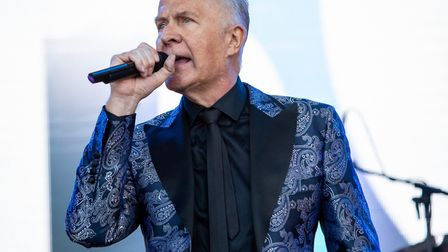 Martin Fry and ABC at Let's Rock Norwich 2018 in Norwich. Picture: LEE BLANCHFLOWER
