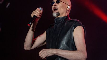 The Human League play a string of hits to cheering crowds at Let's Rock Norwich 2018 at Earlham Park