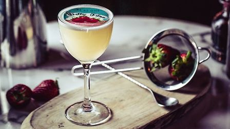 Be At One's Petty Filoo cocktail, inspired by children's fromage frais. Photo: Be At One