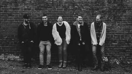 Norwich based rock band Falling From Trees. Photo: Supplied by Falling From Trees