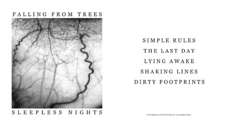 Falling From Trees EP, Sleepless Nights. Photo: Supplied by Falling From Trees