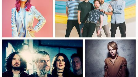 Gabrielle Aplin, Kaiser Cheifs, Reverend and the Makers and Tom Odell. Courtesy of UK Live