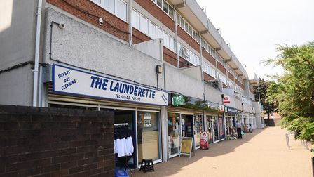 The Suffolk Square parade of shops. Picture: DENISE BRADLEY