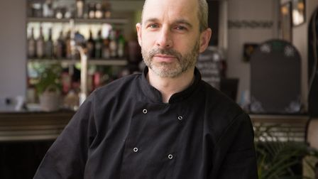 Chris Avey, chef/proprioter of the River Green Cafe in Trowse. Picture: KIERON TOVELL