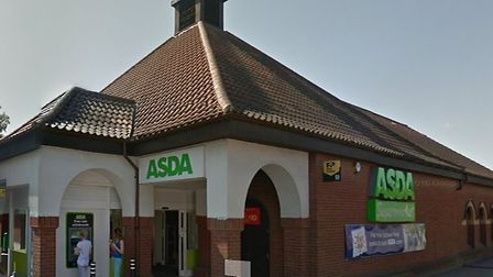 The Lynn Street Asda store in Swaffham was broken into in the early hours of this morning. Photo: GO