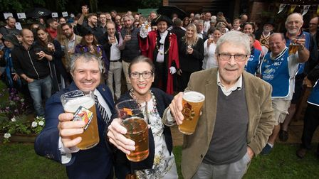 Norwich City of Ale on Thursday, May 24. PHOTO: Simon Finlay.