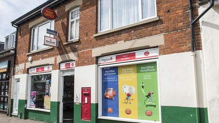Watton Post Office on the High Street. Picture: Matthew Usher.