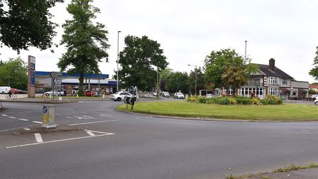 City Councillors are looking to spend £750K on safety improvements to the Fiveways roundabout in Nor