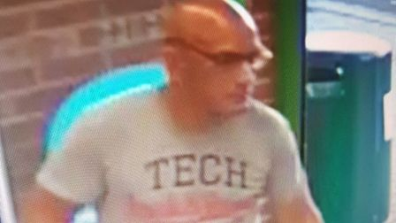 Police have issued a photo of a man they would like to speak to following a theft at a Co-op store i