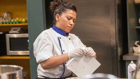 BAKE OFF: THE PROFESSIONALS - Chef Leanne from Hotel Café Royale