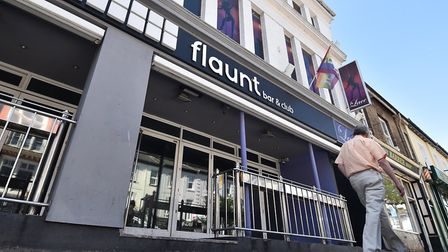 Flaunt Bar and Club, Prince of Wales Road.Picture: ANTONY KELLY
