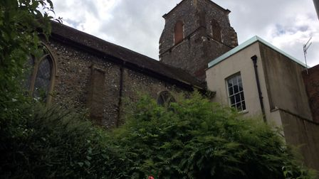 St Mary the Less, as seen from St Michael at Pleas. PHOTO: Sophie Smith