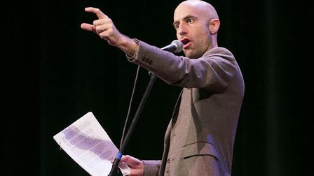 Cecil Baldwin the narrator of the podcast series Welcome to Night Vale