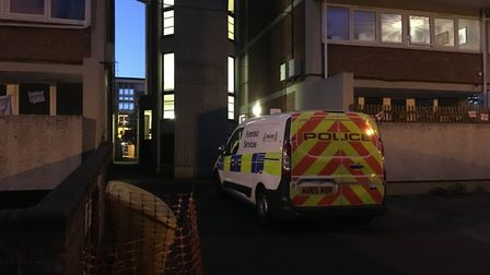 Police have been called to an incident in Suffolk Square, Norwich.