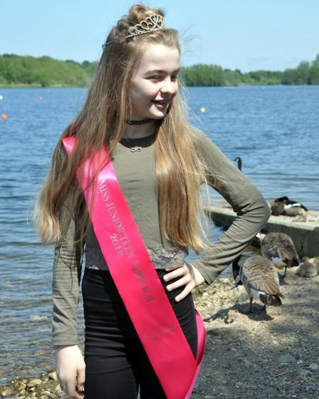 Anais Rider, from Costessey, is a finalist in Miss Teen Great Britain 2018. Photo: Daniel Rider