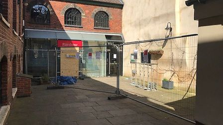 Rainbow Wholefoods has moved into a new temporary premises after a fire. Picture: RAINBOW WHOLEFOODS