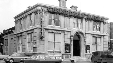 Grosvenor Rooms in Prince of Wales Road, Norwich, venue for The Beatles' appearance in the city on 1