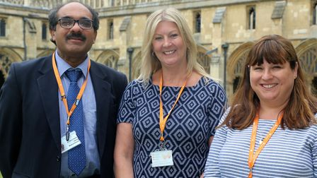 The event happened at Norwich Cathedral. Picture: Norfolk Community Health and Care NHS Trust