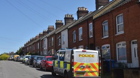 Cannabis was found in a house on Beaconsfield Road, Norwich. Picture: ANTONY KELLY