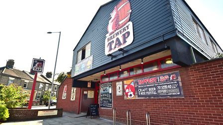 Fat Cat Brewery Tap.Picture: ANTONY KELLY